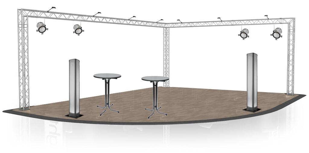 structure aluminium sc nique location mat riel son et lumi re pour vos v nements dr me et. Black Bedroom Furniture Sets. Home Design Ideas